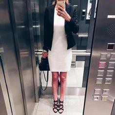 "Gefällt 71 Mal, 2 Kommentare - Bine kocht! (@bine_kocht) auf Instagram: ""#ootd #outfitoftheday #pacoherrero #hugoboss #hugo #offwhite #black #blackandwhite #dress…"""