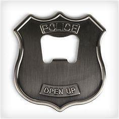 Police Badge Bottle Opener