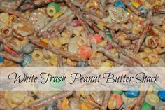 Before Meets After: White Trash Peanut Butter