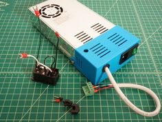 This is a power supply cover for use with my Voxel Ox Printer. It is designed to fit a power supply as sold by OpenBuilds. 3d Design, Print Design, Arduino Cnc, 3d Things, Cnc Software, Cnc Parts, 3d Cnc, 3d Printer Parts, 3d Printer Projects