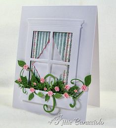 Spring Window by kittie747 - Cards and Paper Crafts at Splitcoaststampers