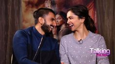 Deep and Ranveer Singh ♥  Ranveer Singh, Indian Film Actress, Together Forever, Deepika Padukone, Dimples, Bollywood, Relationship, Actresses, Actors