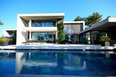 maison moderne a vendre sur le lac de chiberta - Maison Moderne Biarritz