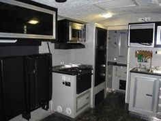 2007 Used Mirage Balboa Toy Hauler in Florida FL.Recreational Vehicle, rv, 2007 Mirage Mirage Hardcore , 32' OAL Balboa by Mirage v-nose work and play style toyhauler, rare find especially in this condition. Sleeps 6, Triple 5,200lb torsion axles, 8,800lbs. of cargo capacity, weight distribution hitch with sway bars, 22.8' floor space to sink cabinet, D rings in floor, E-track on rear walls, fresh 10 ply Maxxis tires, chrome wheels, 9 ft. inside height, tube steel wall studs and roof bows…