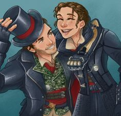Assassin's Creed: Syndicate. Jacob & Evie Frye. Frye twins.