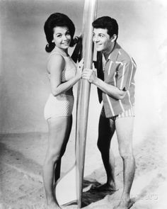 Annette Funicello and Frankie Avalon - Beach Party