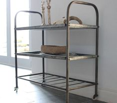 metal storage trolley by the forest & co | notonthehighstreet.com