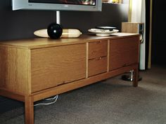 new tv cabinet (ikea stockholm)