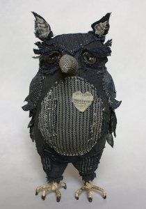 Ann Wood. Somehow this one reminds me of that preacher penguin from Happy Feet