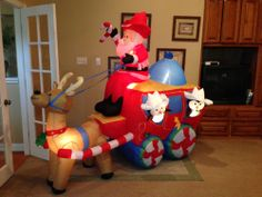 Best inflatable yard decor images christmas