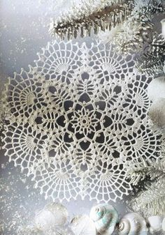 Crochet doily - free pattern                                                                                                                                                                                 More