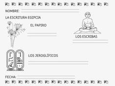 Mi Mundo Infantil: PROYECTO EGIPTO                                                                                                                                                                                 Más Egyptian Crafts, Egypt Art, Maria Jose, Social Science, Continents, Preschool, Culture, History, Color