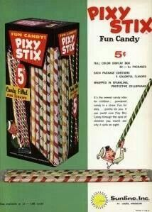 .Loved these - sour powder candy. Ick.