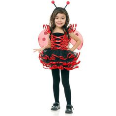 Ladybug Costume White Hoodie Lady Bug Halloween Toddler Costumes Special Deals