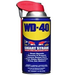 2,000+ Uses For WD-40 | Survival Prepping Ideas, Survival Gear, Skills & Emergency Preparedness Tips - Survival Life Blog: survivallife.com #survivallife