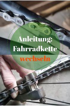 Fahrradkette einfach und schnell mit dem richtigen Werkzeug und Technik wechseln.