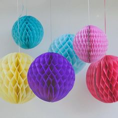 Paper Ball Decorations Easter Eggs Honeycomb Ball Decorations  Easter Decor  Custom