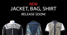 New! Jacket, Bag & Shirt Release Soon!  #jaketbatikmedogh #kemejabatikmedogh #tasbatikmedogh  http://medogh.com/baju-batik-pria
