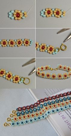 Like the flower beads bracelet?The details will be released by LC.Pandahall.com
