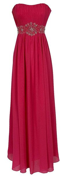 Endofjune Backless Evening Dress With Beads And Draped Skirt US-6 Rose *** Click image to review more details. (This is an affiliate link and I receive a commission for the sales)
