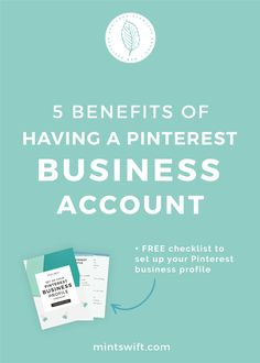 In this post, I'll show you 5 benefits of having a Pinterest business account. You'll learn why you should have a Pinterest business account, how to create a business account or convert a personal account to business account and what are the features of Pinterest business account and why do you need them.