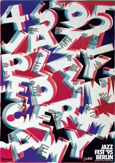 Guenther Kieser, Jazzfest Berlin, 1995