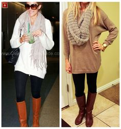 Could wear an oversized sweater and boots everyday, all fall.
