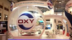 OXY Stand in MEOS at Bahrain International Exhibition Center