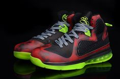 7f26185049e1 Lebron 9 camo balck red! 73.40USD Shoes Nike Adidas