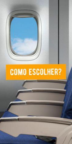 Como escolher o melhor assento em voos internacionais