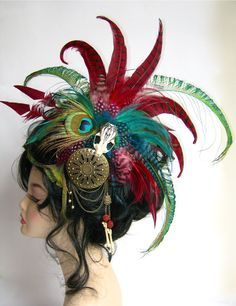 Tribal Fusion Headdress by Genevieve-Amelia.deviantart.com on @deviantART
