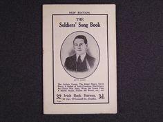 Irish Volunteers soldiers song book Early 1900's, £85