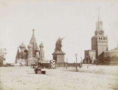 420. Красная площадь в Москве, 1850-е