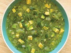 Mexican Tomatillo Avocado Soup