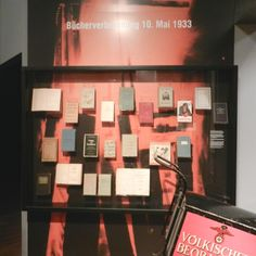 "This exhibition concentrates entirely on the national socialism in Munich and asks the question ""What was different here than in other German cities?"""