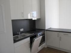 Küche in einem größeren Apartment