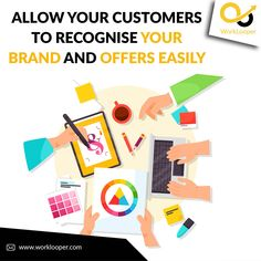 Allow Your Customers to Recognise Your Brand and Offers Easily #Graphics #GraphicDesign #Designing #Branding #BrandLogo #LogoDesgin #Logo