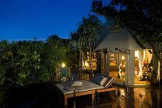 Tent Hotels: Banyan Tree in Madivaru, Maldives