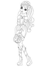 Free Printable Ever After High Coloring Page For Ashlynn Ella