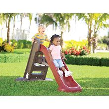 Little Tykes Endless Adventure Easy Store Large Slide. Looks like a way to burn off energy in the winter