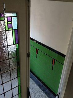 Amsterdam Architecture, Interior Walls, Interior Design, Amsterdam School, Craftsman Bathroom, Hallway Inspiration, William Morris, Toilet, New Homes