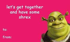 some valentines for your loved ones day memes shrek Church of Shrek Meme Valentines Cards, Bad Valentines, Shrek, Stupid Memes, Funny Memes, Movie Memes, Flirty Memes, Cute Love Memes, Funny Cards