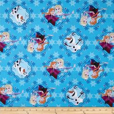 Disney Frozen Sisters Ice Skating Framed Blue from @fabricdotcom  From Springs Creative Group and licensed by Disney, this cotton print fabric is perfect for quilting, apparel and home decor accents. Colors include orange, beige, pink, burgundy, white, black, and shades of blue. Due to licensing restrictions, this item can only be shipped to USA, Puerto Rico, and Canada.