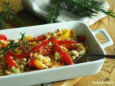 Peperoni gratinati al forno - contorno facile