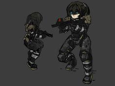 assault suit concept