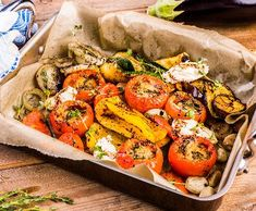 Grilovaná provensálská rajčata s nokem z nivy | Recepty Albert