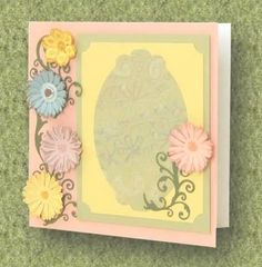 Card Making Project - Colours Of Spring Card