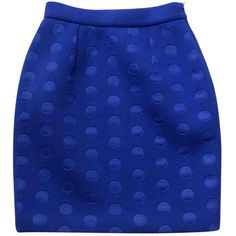 Pre-owned Stella Mc Cartney Mid-Length Skirt (10.325 RUB) ❤ liked on Polyvore featuring skirts, blue, mid length skirts, stella mccartney, stella mccartney skirt and blue skirt