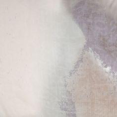 Tie-Dye Beige Silk Chiffon - Fashion Fabrics