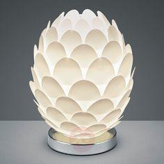 Kegelvormige tafellamp Retro Ø 15 cm van Reality Leuchten Decor, Serving Bowls, Retro, Tableware, Home Decor, Inspiration, Bowl